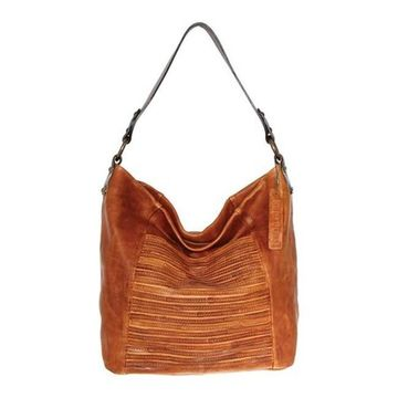 Nino Bossi Women's Jaiden Leather Shoulder Bag Cognac - US Women's One Size (Size None)