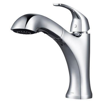 Kraus Oren Dual Function Pull-Out Kitchen Faucet, Chrome