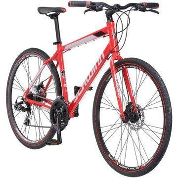 700C Schwinn Kempo Men's Hybrid Bike, Red