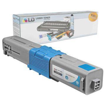 Compatible Okidata Type C17 / 44469721 High Yield Cyan Laser Toner Cartridge