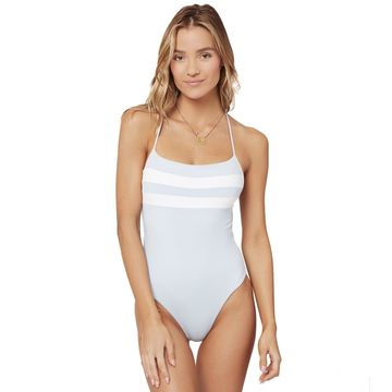 L-Space Color Block High Impact One Piece Swimsuit