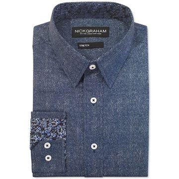 Men's Modern-Fit Denim Shirt
