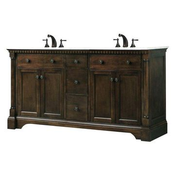 Legion Furniture Sink Vanity, Antique Coffee, 60