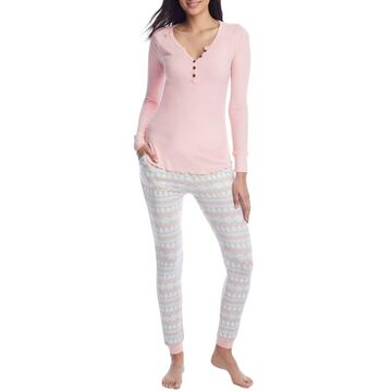 By The Fire Fairisle Knit Pajama Set