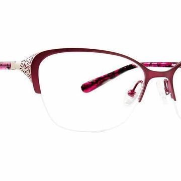 XOXO Salinas Eyeglasses in Burgundy
