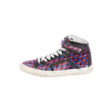 Printed Sneakers Blue