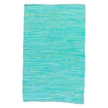 Jaipur Living Raggedy Handmade Solid Blue/Green Area Rug, 9'x12'