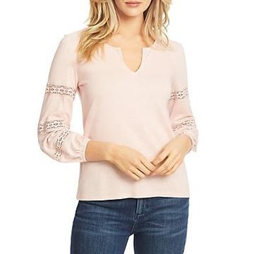 1.state Crochet Inset Top
