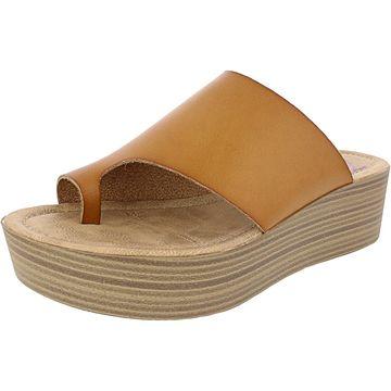 Blowfish Women's Laslett Dyecut Faux Leather Sandal