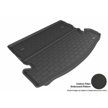 3D MAXpider 2014-2016 Nissan Rogue All Weather Cargo Liner in Black with Carbon Fiber Look