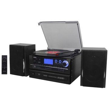 Jensen 6-in-1 Home Stereo System - JTA-990