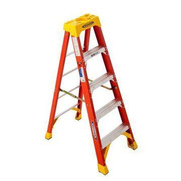 Werner 6205 5' Type IA Fiberglass Step Ladder