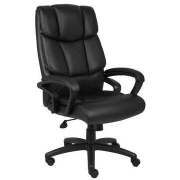 Boss Office & Home Black NTR Executive Top Grain Chair