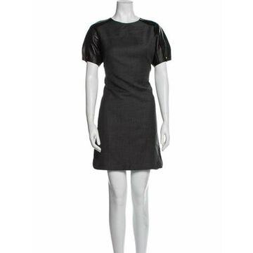 Virgin Wool Mini Dress Wool