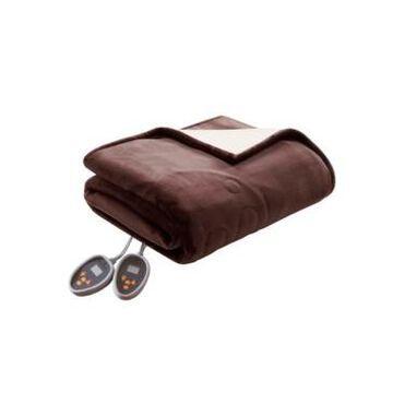Woolrich Electric Plush to Berber Reversible King Blanket Bedding