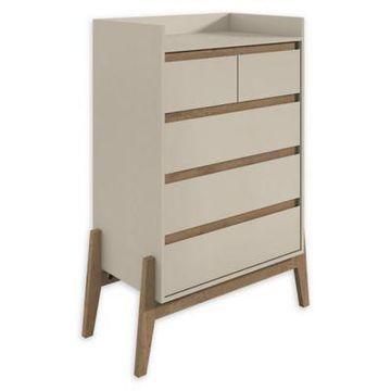 Manhattan Comfort Essence Tall Dresser in White