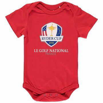 Garb Newborn & Infant 2018 Ryder Cup Logo Otis Bodysuit Red