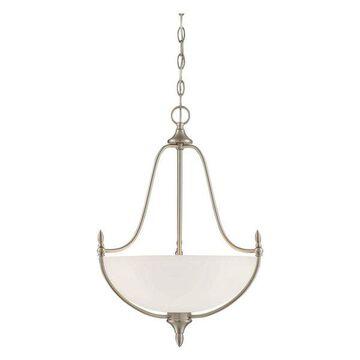 Savoy House Herndon 3-Light Pendant, Satin Nickel