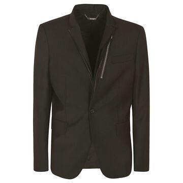 Les Hommes Light Wool Classic Blazer