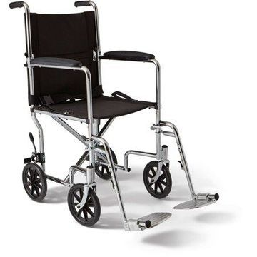 Medline Steel Transport Chair, 19