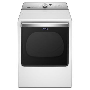 Maytag 8.8-cu ft Electric Dryer (White) ENERGY STAR