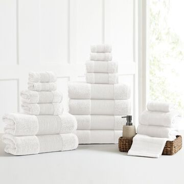 Amrapur Overseas Air Cloud 18-Piece Bath Towel Set
