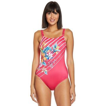 Amoena Mastectomy Honolulu High Neck One Piece Swimsuit (Bu002FC Cup)