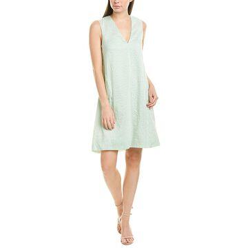 Lela Rose Silk-Blend Tunic Dress