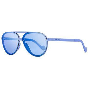 Moncler ML0063 90C Mens Light Blue 61 mm Sunglasses - Light Blue - Light Blue