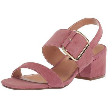 Steven by Steve Madden Womens Fond Leather Open Toe Special Occasion Slingbac...