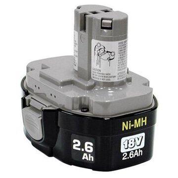 Makita Nickel Metal Hydride Hardware Tools Battery - Nickel-Metal Hydride (NiMH) - 18V DC