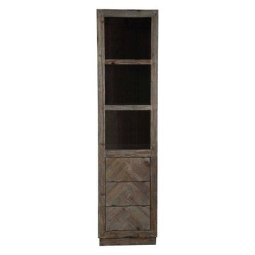 Legion Furniture Legion Furniture Side Cabinet, Rustic Brown