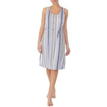 Ellen Tracy Women's Belted Tie Midi Lounge Dress - -