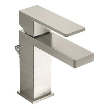 Symmons Duro Satin Nickel 1-handle Single Hole WaterSense Bathroom Sink Faucet | SLS-3612-STN-1.0