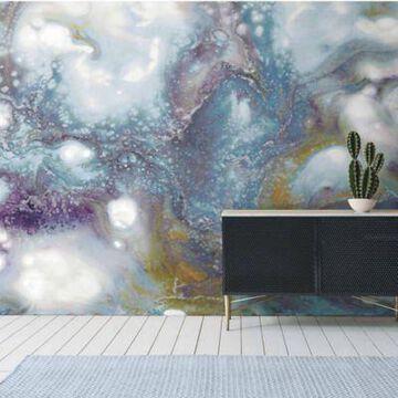 Roommates Galaxy Vinyl Peel & Stick Wallpaper