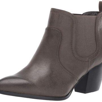 Bella Vita Womens Emerson Leather Closed Toe Ankle