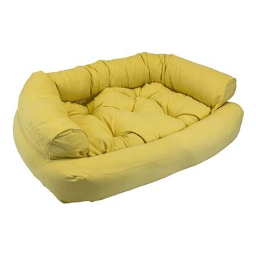 Snoozer Luxury Overstuffed Pet Sofa in Lemon