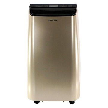 Portable Air Conditioner With Remote Control, Gold/Black, Up To 250 Sq. Ft.