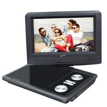 Supersonic 7-inch Dvd Player With Tv Tuner