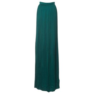 Balmain Green Silk Skirts