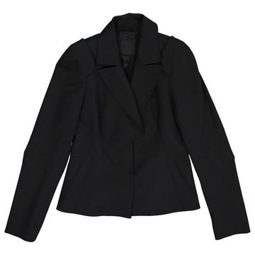 Costume National Black Wool Jackets