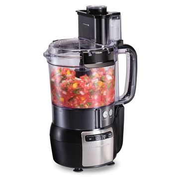 Hamilton Beach 12-Cup Stack & Snap Food Processor with Bonus Disc