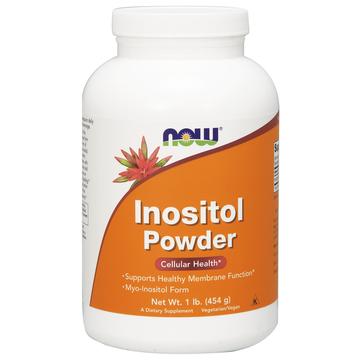 100% Pure Inositol Powder Now Foods 1 lbs Powder