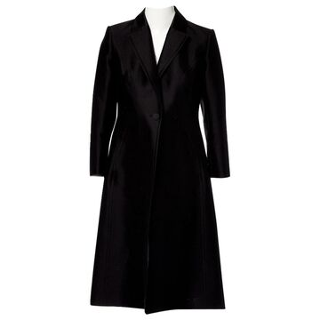 Carolina Herrera Black Cotton Coats