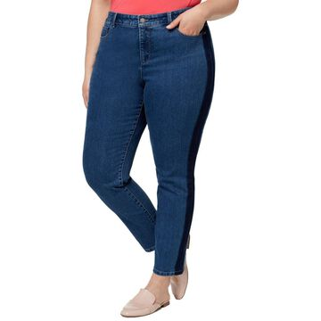 Charter Club Womens Plus Bristol Ankle Jeans