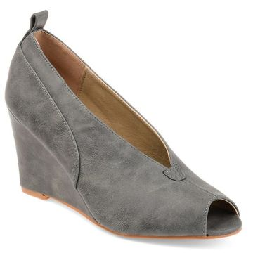 Journee Collection Calista Womens Wedges