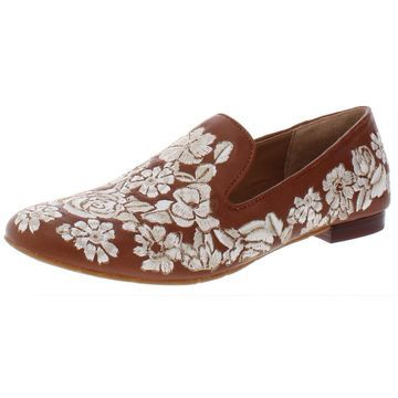 Patricia Nash Womens Illumina Leather Embroidered Loafers