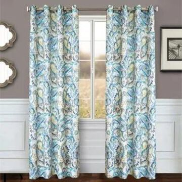 Softline Home Fashion's Lerin Grommet Top Curtain Panel