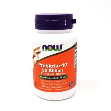 Probiotic-10 25 Billion By Now Foods - 50 Vcaps