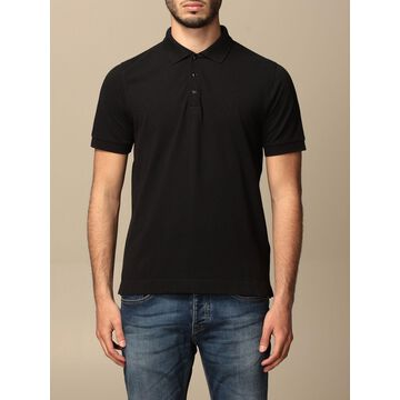 Sun 68 basic polo shirt in cotton with short sleeves